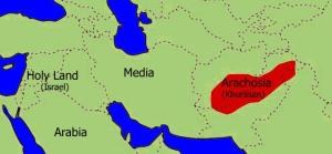 Arachosia or Khurasan